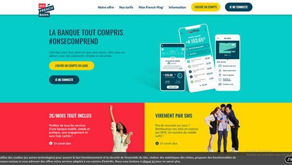 Fonctionnement, services & produits et avis sur Ma French Bank